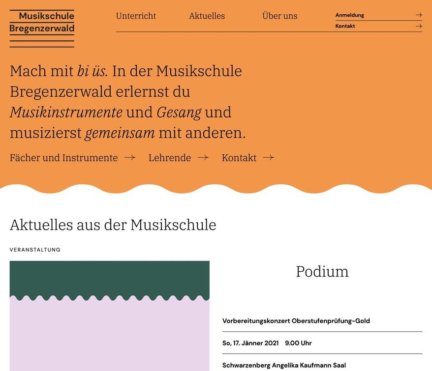 Musikschule Bregenzerwald